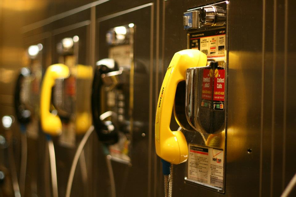 Black Phone, Yellow Phone, Black Ph.... in Central Station